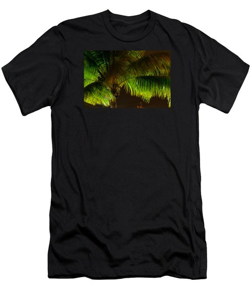 Royal Palm Night Out Men's T-Shirt (Athletic Fit)