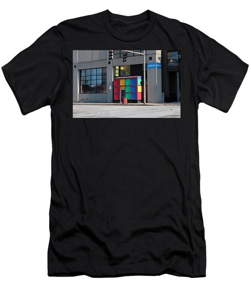 Rubik Shelter Men's T-Shirt (Athletic Fit)
