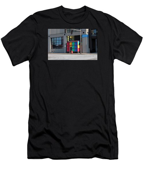 Rubik Shelter Men's T-Shirt (Athletic Fit)