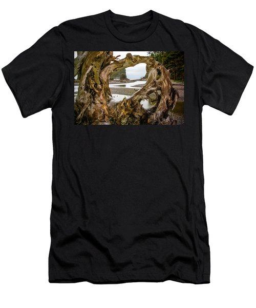 Ruby Beach Driftwood 2007 Men's T-Shirt (Athletic Fit)
