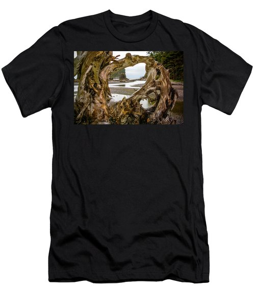 Ruby Beach Driftwood 2007 Men's T-Shirt (Athletic Fit)