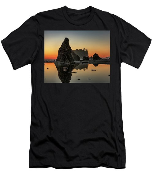 Ruby Beach At Sunset Men's T-Shirt (Athletic Fit)