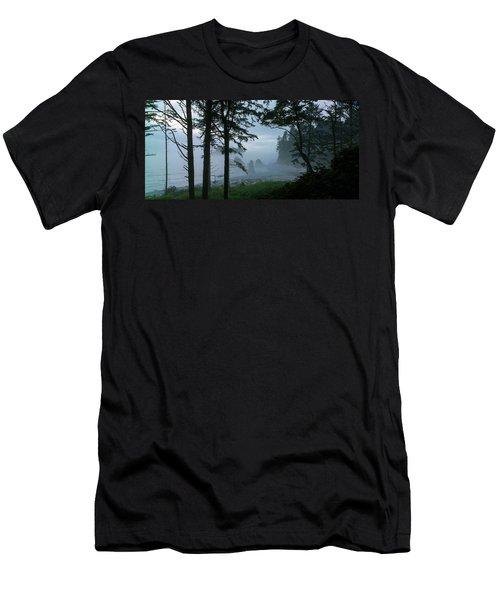 Ruby Beach II Washington State Men's T-Shirt (Athletic Fit)