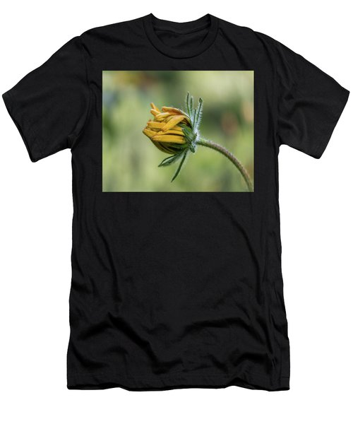 Rudbeckia Fuzzy Bud Men's T-Shirt (Athletic Fit)