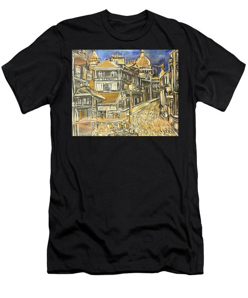 Rue Lepic Men's T-Shirt (Athletic Fit)