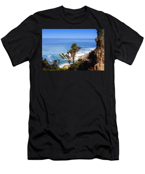 Rugged Beauty Men's T-Shirt (Slim Fit) by Kandy Hurley