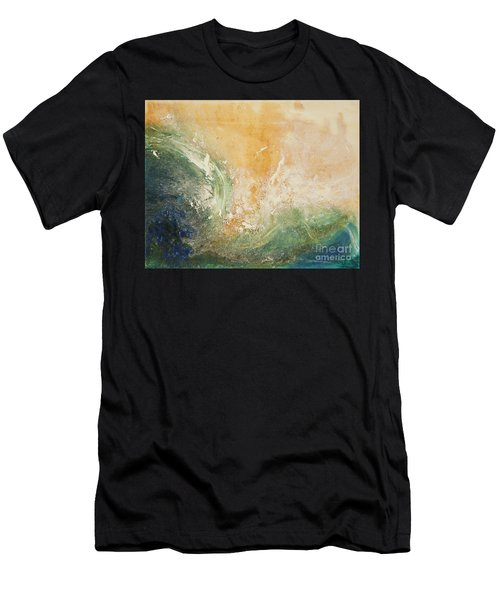 Rugged Coast Aerial View Men's T-Shirt (Athletic Fit)
