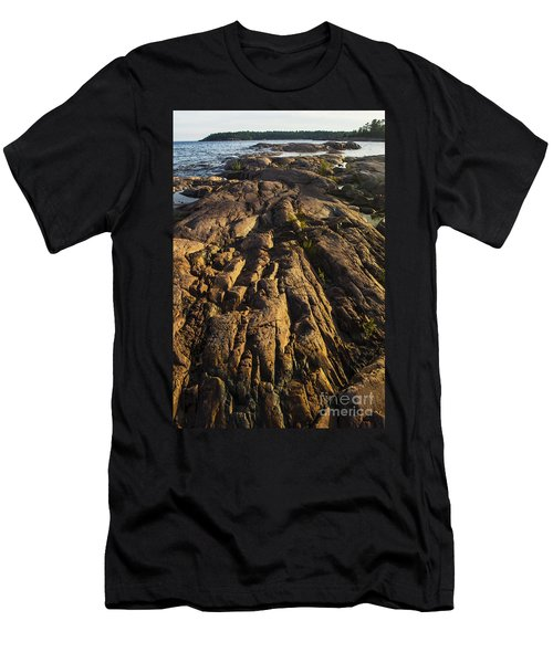 Rugged Killarney Shoreline-4441 Men's T-Shirt (Athletic Fit)