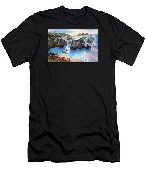 Marin Lovers Coastline Men's T-Shirt (Athletic Fit)
