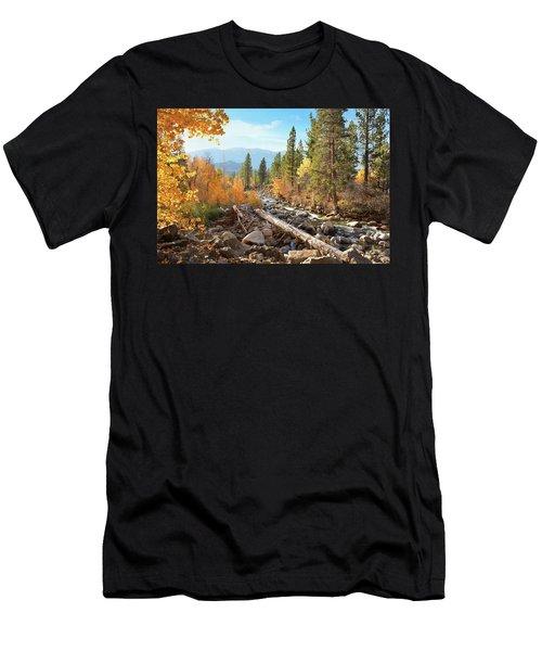 Rugged Sierra Beauty Men's T-Shirt (Athletic Fit)