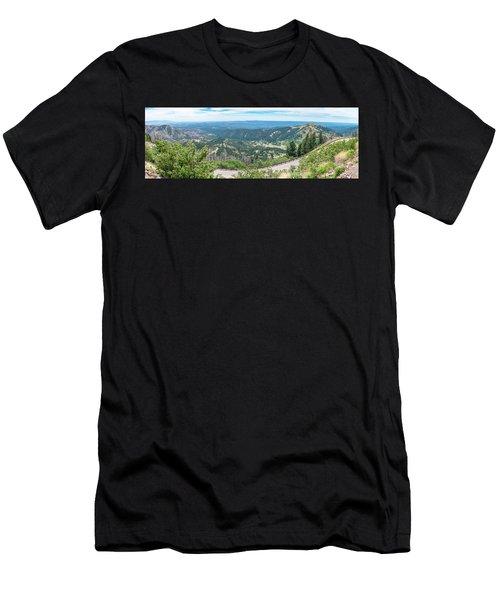 Ruidoso, Nm Panoramic Men's T-Shirt (Athletic Fit)