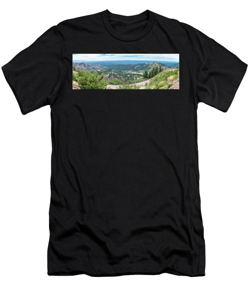 Ruidoso, Nm Panoramic Men's T-Shirt (Athletic Fit)