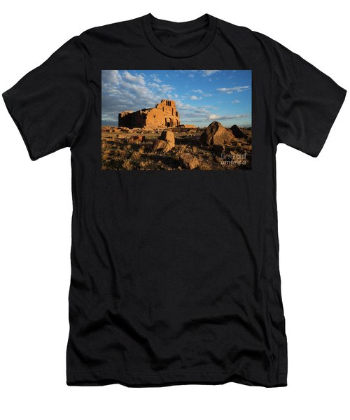 Ruins Of Yereruyk Temple Under Amazing Cloudscape, Armenia Men's T-Shirt (Athletic Fit)