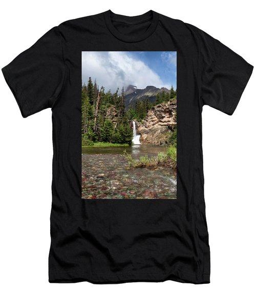 Running Eagle Falls Men's T-Shirt (Athletic Fit)