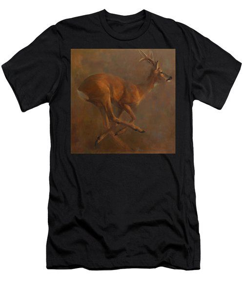 Running Roe Men's T-Shirt (Athletic Fit)