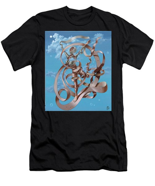 Running Men's T-Shirt (Athletic Fit)