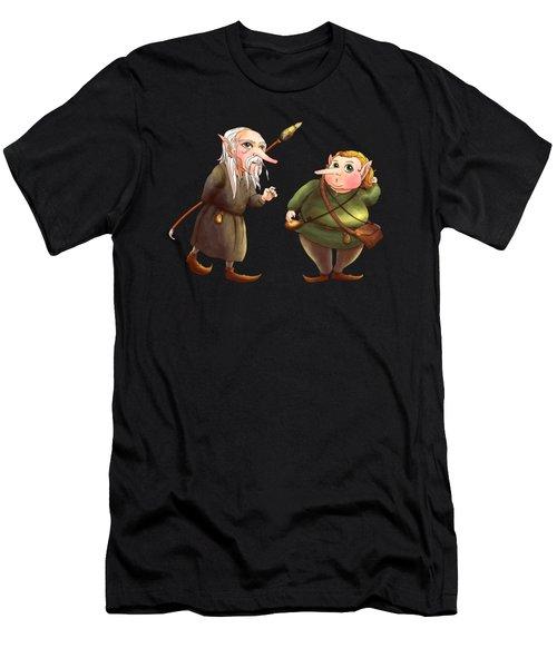 Rupert And Shuman Men's T-Shirt (Athletic Fit)