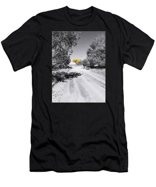 Rural Autumn Splash Men's T-Shirt (Athletic Fit)