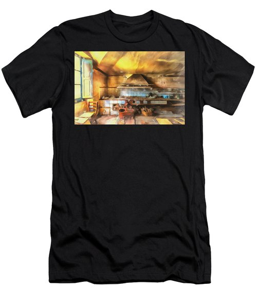 Rural Culinary Atmosphere Nr 2 - Atmosfera Culinaria Rurale IIi Paint Men's T-Shirt (Athletic Fit)