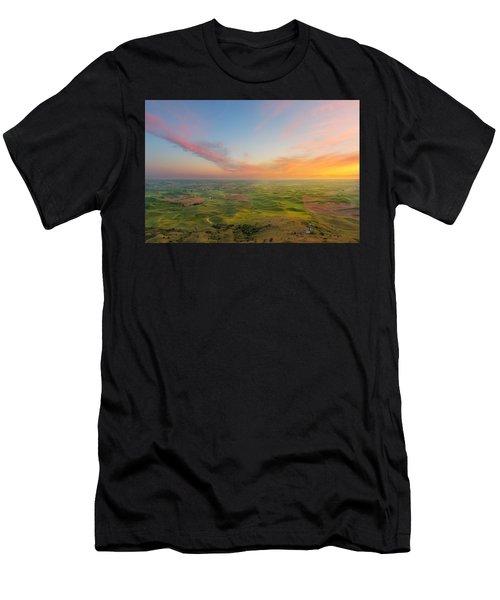 Rural Setting Men's T-Shirt (Athletic Fit)