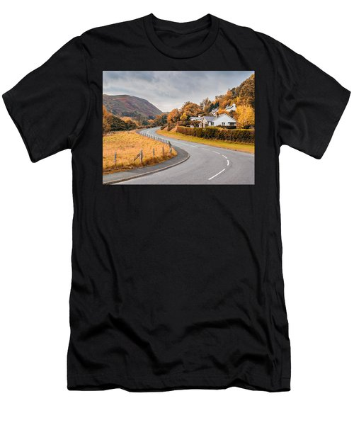 Rural Wales In Autumn Men's T-Shirt (Athletic Fit)