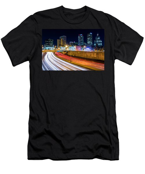 Rush Hour In Hartford, Ct Men's T-Shirt (Athletic Fit)