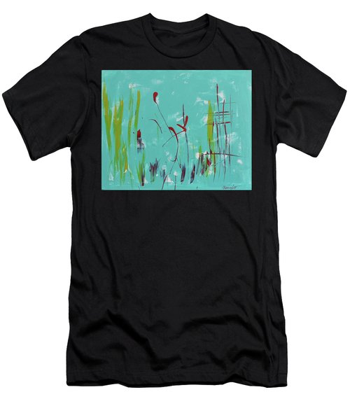 Rushes And Reeds Men's T-Shirt (Athletic Fit)
