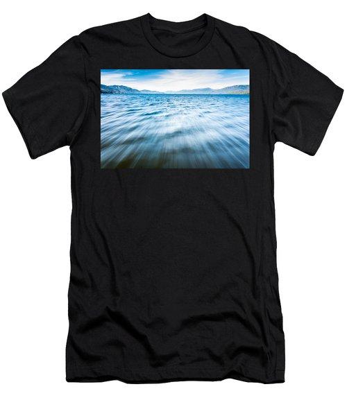 Rushing Away Men's T-Shirt (Athletic Fit)
