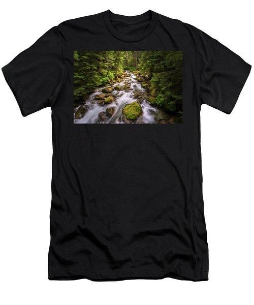 Rushing River Men's T-Shirt (Athletic Fit)