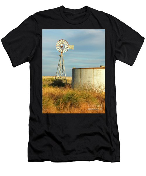 Rust Find Its Place Men's T-Shirt (Athletic Fit)