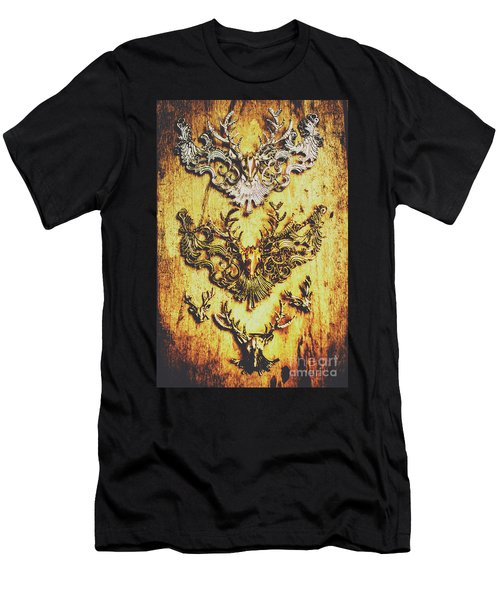 Rustic Country Style Jewels  Men's T-Shirt (Athletic Fit)