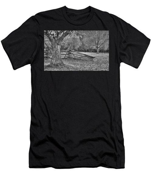 Rustic Men's T-Shirt (Slim Fit) by Michael Mazaika