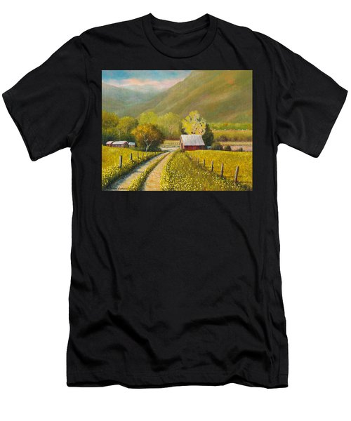 Rustic Road Men's T-Shirt (Athletic Fit)