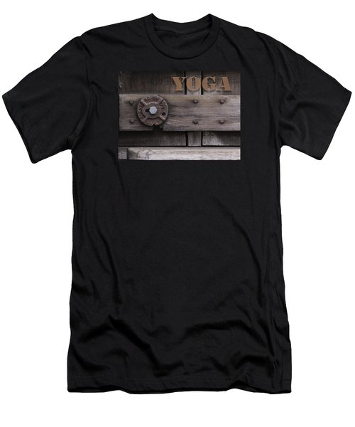 Rustic Yoga Men's T-Shirt (Athletic Fit)