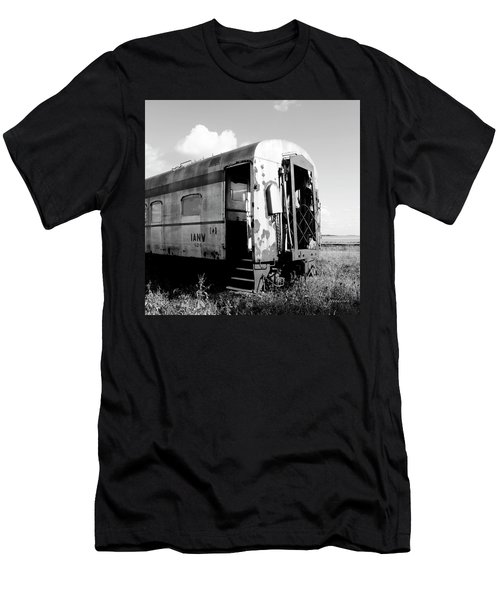 Rusting On The Rails Men's T-Shirt (Athletic Fit)