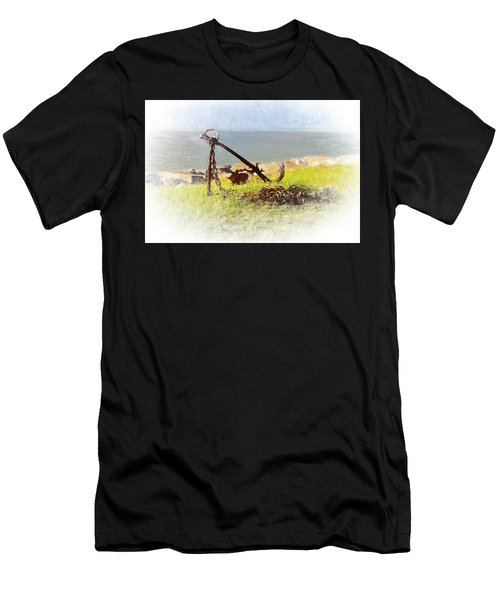 Rusty Anchor Men's T-Shirt (Athletic Fit)