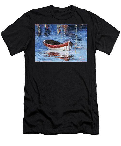 Rusty Brown Blues Men's T-Shirt (Athletic Fit)