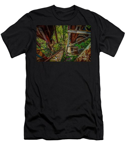 Rusty Climb Men's T-Shirt (Athletic Fit)