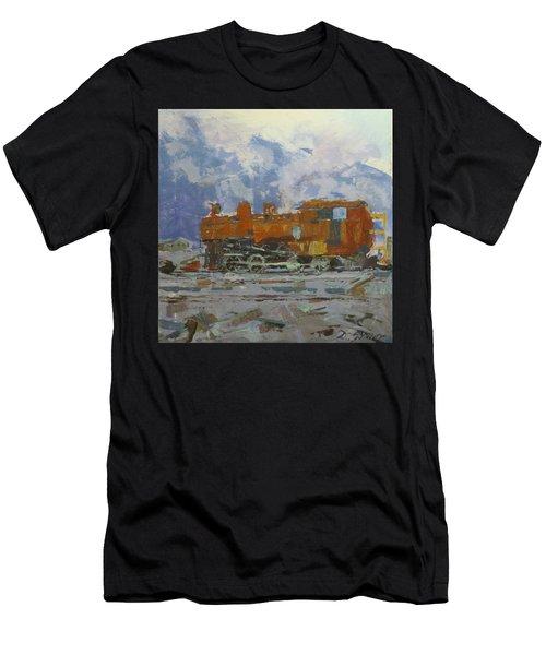 Rusty Loco Men's T-Shirt (Athletic Fit)