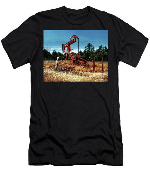 Rusty Pump Jack Men's T-Shirt (Athletic Fit)