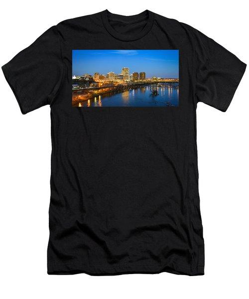 Rva Night Men's T-Shirt (Athletic Fit)