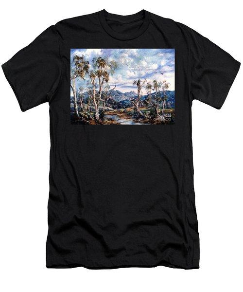 Rwetyepme, Mount Sonda Central Australia Men's T-Shirt (Athletic Fit)