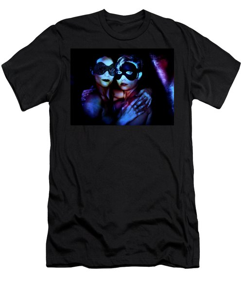 Men's T-Shirt (Athletic Fit) featuring the digital art Ryli And Corinne 4 by Mark Baranowski