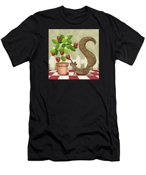 S Is For Squirrel Men's T-Shirt (Athletic Fit)