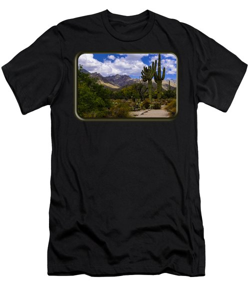 Sabino Canyon No4 Men's T-Shirt (Athletic Fit)