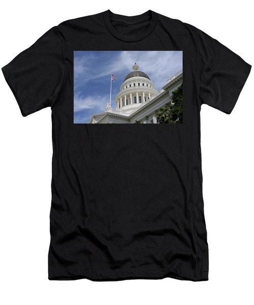 Sacramento Capitol Building Men's T-Shirt (Athletic Fit)