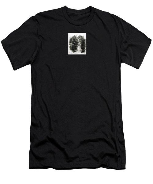 Sacred Gate  Men's T-Shirt (Athletic Fit)