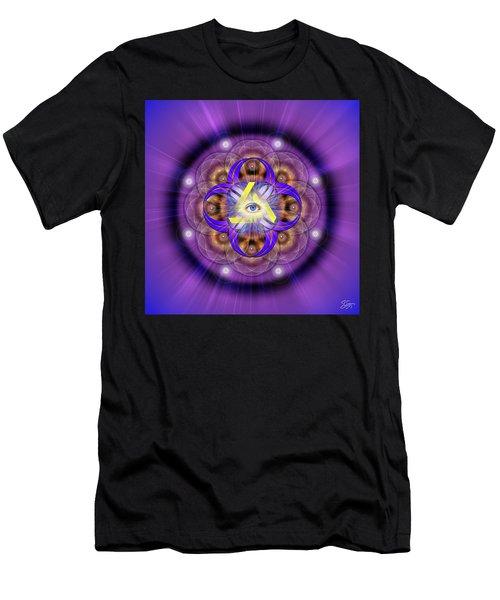 Sacred Geometry 639 Men's T-Shirt (Athletic Fit)