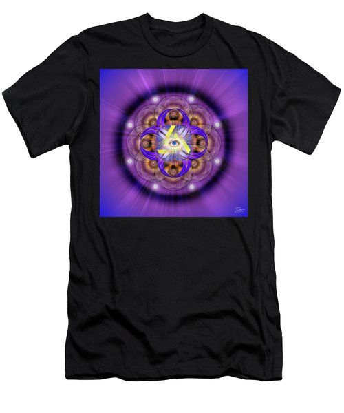 Sacred Geometry 639 Men's T-Shirt (Athletic Fit)