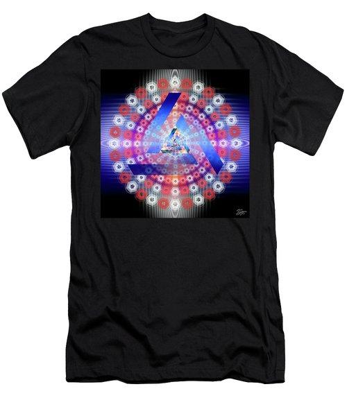 Sacred Geometry 646 Men's T-Shirt (Athletic Fit)